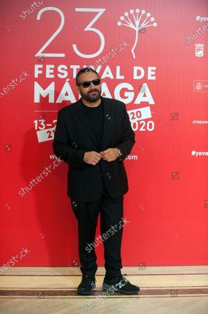 Spanish actor Pepon Nieto attends the Malaga Film Festival closing ceremony at Miramar Hotel.