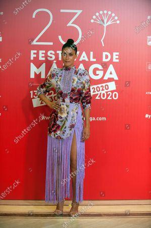 Editorial photo of Malaga Film Festival closing ceremony, Miramar Hotel, Spain - 29 Aug 2020