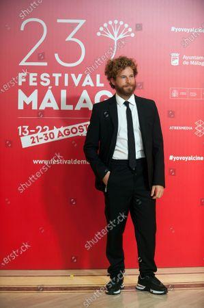Spanish actor Alvaro Cervantes attends the Malaga Film Festival closing ceremony at Miramar Hotel.