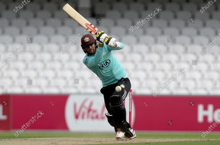 Ben Foakes of Surrey in batting action during Surrey vs Essex Eagles, Vitality Blast T20 Cricket at the Kia Oval on 30th August 2020