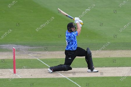 Luke Wright of Sussex during the Vitality T20 Blast South Group match between Sussex County Cricket Club and Hampshire County Cricket Club at the 1st Central County Ground, Hove