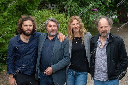 Stock Photo of Les Deux Alfred - Yann Frisch, Bruno Podalydes, Sandrine Kiberlain, Denis Podalydes