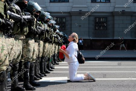 Editorial picture of Protest, Minsk, Belarus - 30 Aug 2020