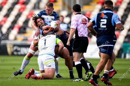 Editorial picture of Guinness PRO14, Rodney Parade, Rodney Parade, Newport, South Wales, Wales - 30 Aug 2020