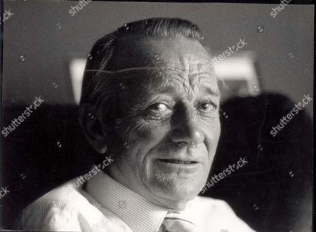Portrait Of Actor Denholm Elliott (died October 1992) Taken In August 1989.