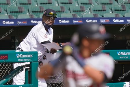 Editorial photo of Twins Tigers Baseball, Detroit, United States - 30 Aug 2020