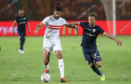 Editorial image of Zamalek SC vs Enppi SC, Cairo, Egypt - 30 Aug 2020