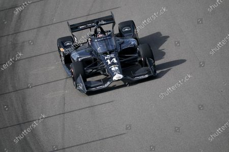 Stock Picture of Tony Kanaan drives during the IndyCar auto race at World Wide Technology Raceway, in Madison, Ill