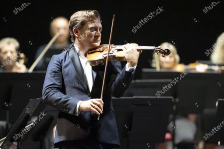 Editorial photo of Renaud Capucon concert, Nice, France  - 29 Aug 2020