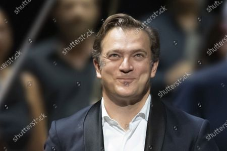 Stock Image of Renaud Capucon concert with the Philharmonique de Nice conducted by Lionel Bringuier