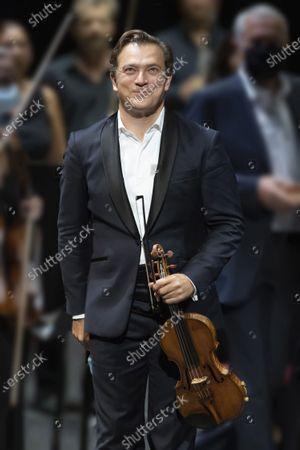 Renaud Capucon concert with the Philharmonique de Nice conducted by Lionel Bringuier