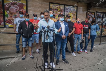 Editorial photo of NY: United Bodega owners press conference, Bronx, New York, United States - 30 Aug 2020