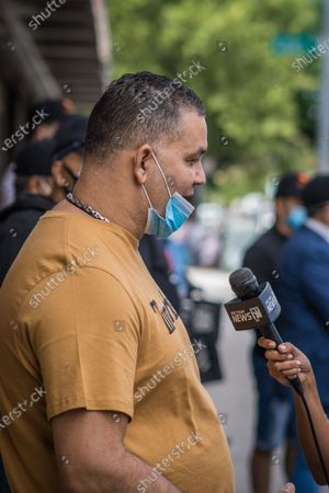 Editorial image of NY: United Bodega owners press conference, Bronx, New York, United States - 30 Aug 2020