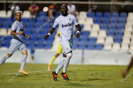 Eliaquim Mangala (Valencia) - Football / Soccer : Preseason match between Valencia CF 2-1 Villarreal CF at the Pinatar Arena in San Pedro del Pinatar, Spain.