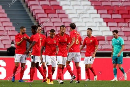 Editorial photo of Portugal Lisbon Football Friendly Match Sl Benfica vs Afc Bournemouth - 30 Aug 2020