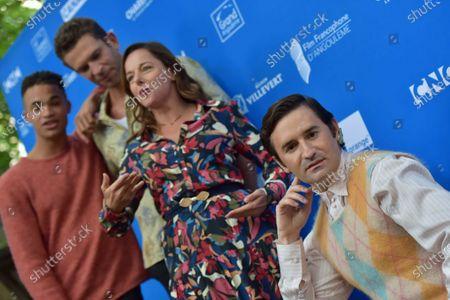 Garcon Chiffon - Theo Christine, Arnaud Valois, Laure Calamy and Nicolas Maury