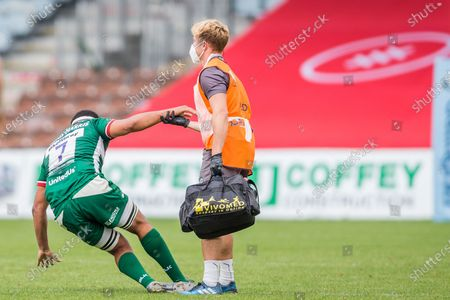 Editorial picture of London Irish v Saracens, Gallagher Premiership Rugby - 31 Aug 2020