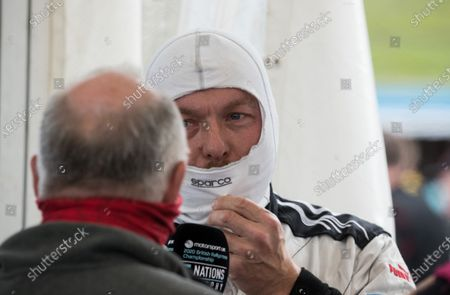 Sir Chris Hoy MBE,  speaking following the supercar final during the 5 Nations British Rallycross at Lydden Hill Race Circuit on 31st August 2020