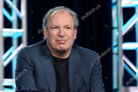 """Hans Zimmer speaks at the BBC America's """"Seven Worlds, One Planet"""" panel during the AMC Networks TCA 2020 Winter Press Tour, in Pasadena, Calif. Zimmer and Jacob Shea provide the score for """"Planet Earth: A Celebration,"""" premiering on Monday at 8 p.m. ET/7p.m. CT across BBC AMERICA, AMC, SundanceTV and IFC"""