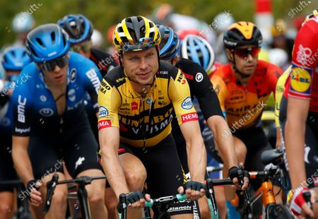 German rider Tony Martin of Team Jumbo-Visma in action during the third stage of the Tour de France 2020 cycling race over 198km from Nice to Sisteron, southern France, 31 August 2020.