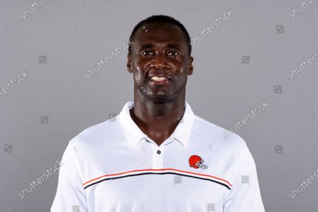 This is a 2020 photo of Larry Jackson of the Cleveland Browns NFL football team. This image reflects the Cleveland Browns active roster as of when this image was taken