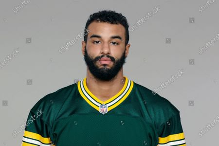 This is a 2020 photo of Greg Roberts of the Green Bay Packers NFL football team. This image reflects the Green Bay Packers active roster as of when this image was taken
