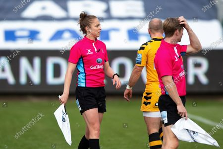 Premiership Rugby official Sara Cox