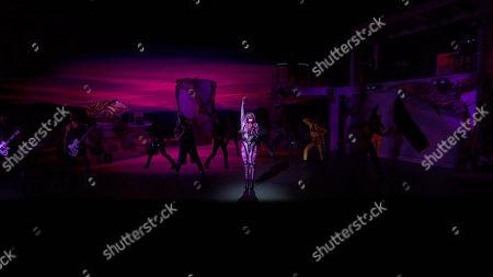 Redakční obrázek na téma MTV Video Music Awards, New York, USA - 30 Aug 2020