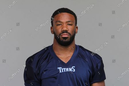 This is a 2020 photo of Chris Jackson of the Tennessee Titans NFL football team. This image reflects the Tennessee Titans active roster as of when this image was taken