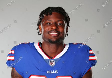 This is a 2020 photo of Josh Thomas of the Buffalo Bills NFL football team. This image reflects the Buffalo Bills active roster as of when this image was taken