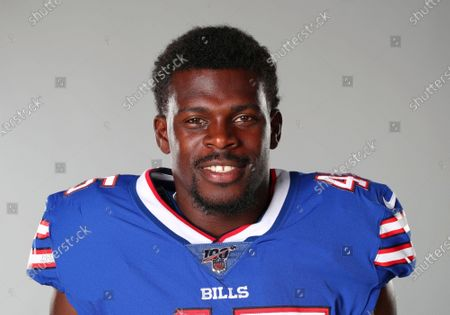 Stock Picture of This is a 2020 photo of Christian Wade of the Buffalo Bills NFL football team. This image reflects the Buffalo Bills active roster as of when this image was taken