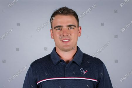 Stock Image of This is a 2020 photo of John Aylward of the Houston Texans NFL football team. This image reflects the Houston Texans active roster as of when this image was taken