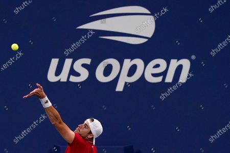 Editorial photo of US Open Tennis, New York, United States - 31 Aug 2020