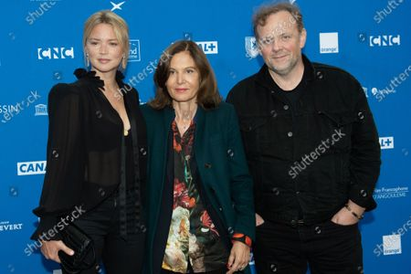 Stock Picture of Anne Fontaine, Virginie Efira and Gregory Gadebois