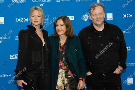 Anne Fontaine, Virginie Efira and Gregory Gadebois