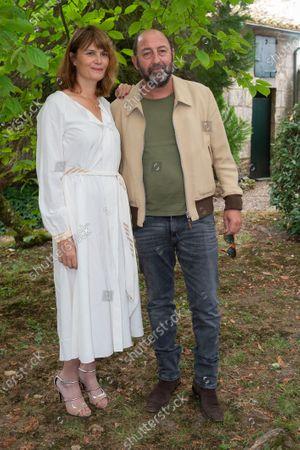 Stock Image of Kad Merad and Marina Hans