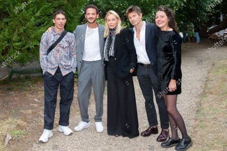 Ludovic Bergery, Emmanuel le Beart, Marie Zabucovek, Vincent Dedienne and Sandor Funtek