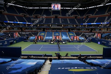 Editorial image of US Open Grand Slam tennis tournament in New York, USA - 31 Aug 2020