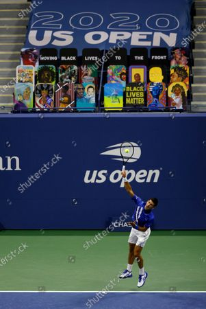 Editorial photo of US Open Grand Slam tennis tournament in New York, USA - 31 Aug 2020
