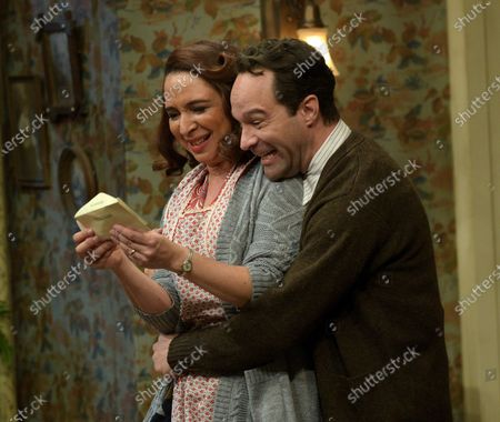 Maya Rudolph as Mother Parker and Chris Diamantopoulos as Old Man Parker
