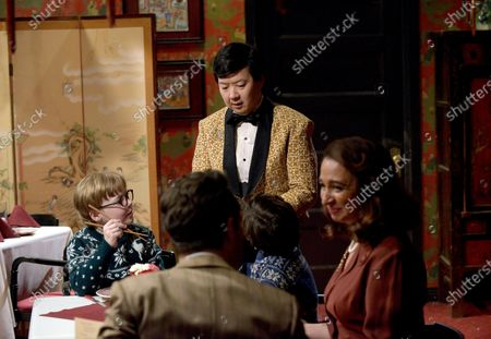 Andy Walken as Ralphie Parker, Ken Jeong as Christmas Tree Man/Chinese Restaurant Owner and Maya Rudolph as Mother Parker