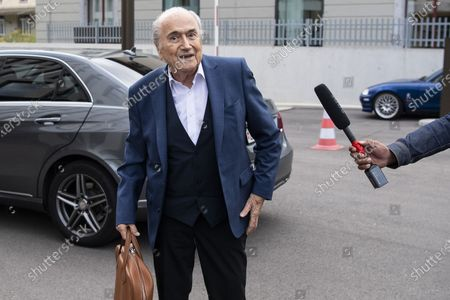 Editorial photo of Platini, Blatter hearing at Attorney General over 2015 payments, Bern, Switzerland - 01 Sep 2020