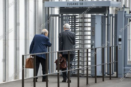 Editorial image of Platini, Blatter hearing at Attorney General over 2015 payments, Bern, Switzerland - 01 Sep 2020