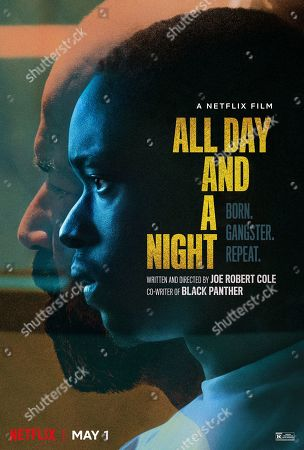 All Day and a Night (2020) Poster Art. Jeffrey Wright as James Daniel Lincoln 'JD' and Ashton Sanders as Jahkor Abraham Lincoln