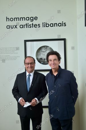 """4Francois Hollande and Jack Lang attend """"Tribute To Lebanese Artists"""""""