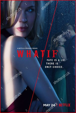 What/If (2019) Poster Art. Renee Zellweger as Anne Montgomery, Jane Levy as Lisa Donovan and Blake Jenner as Sean Donovan