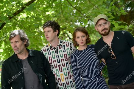 Stock Picture of La Terre Des Hommes - Jalil Lespert, Finnegan Oldfield, Diane Rouxel and Nael Marandin