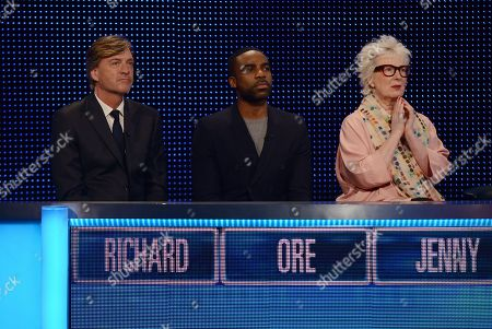 Editorial image of 'The Chase Celebrity Special' TV Show, Series 11, Episode 1, UK - 05 Sep 2020
