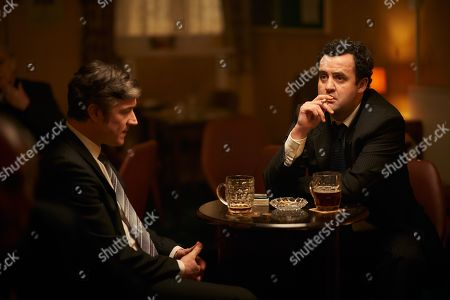 Daniel Mays as Jay and Barry Ward as McCusker.