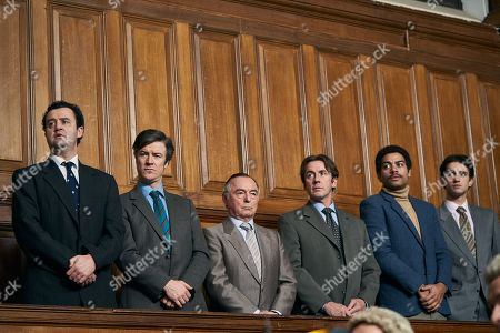 Stock Image of Daniel Mays as Jay, Barry Ward as McCusker, Ron Cook as Chambers, Jay Simpson as Healya and Ben Bailey Smith as Brian Lodge.